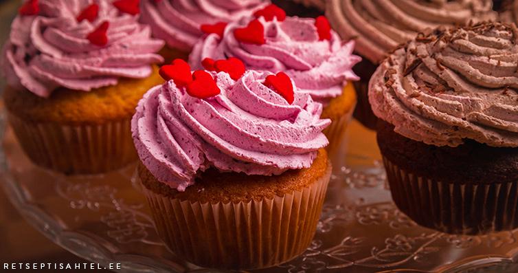 Cupcakes Retseptisahtel
