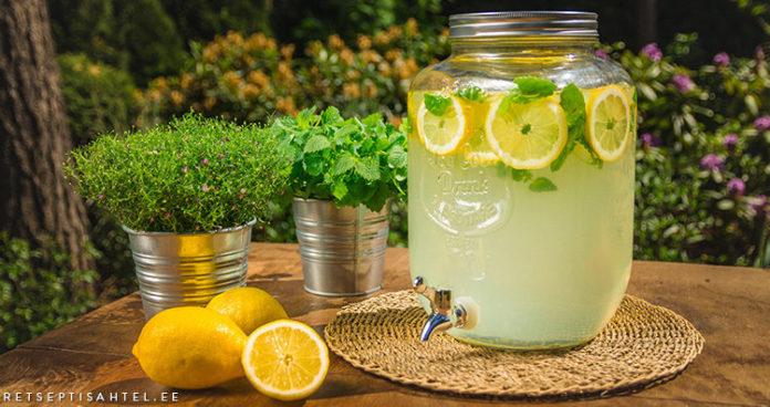 Limonaad Retseptisahtel
