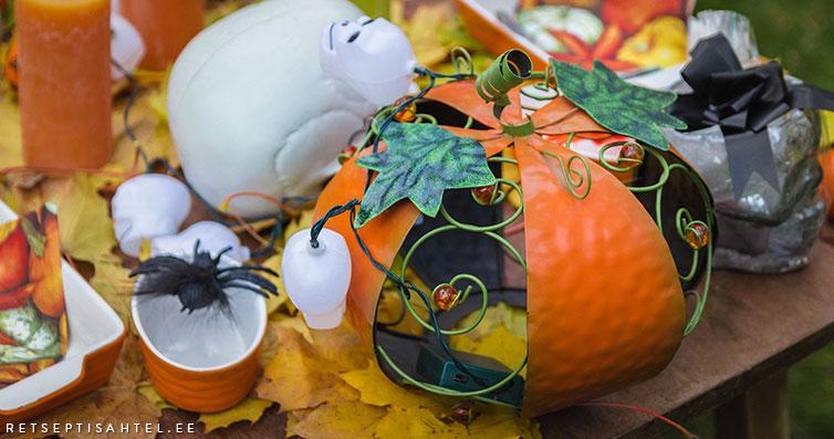Halloweeni Retseptisahtel