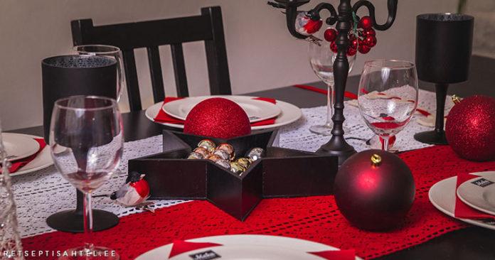 Jõulukaunistused Retseptisahtel