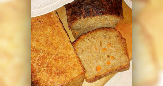 Kartuli-porgandi leib Retseptisahtel