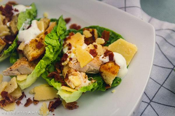 Caesari salat Retseptisahtel