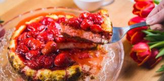 Toorjuustukook maasikatega Retseptisahtel
