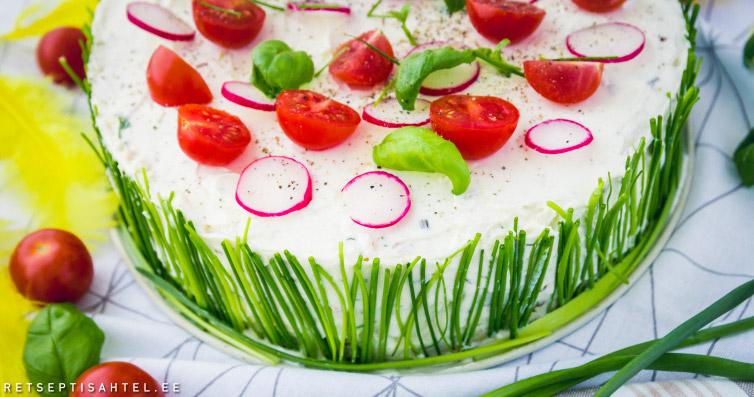 Soolane tort Retseptisahtel