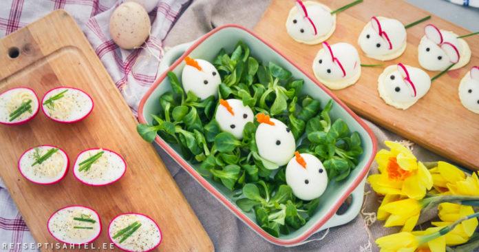 Täidetud munad Retseptisahtel