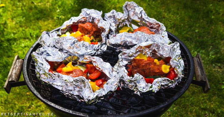 Kalkuni grill-liha