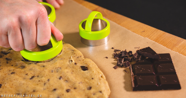 Šokolaaditükkidega küpsised