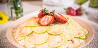 Riccota-maasikakuppel