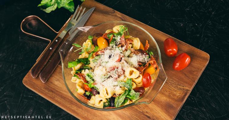 Chorizo pastasalat