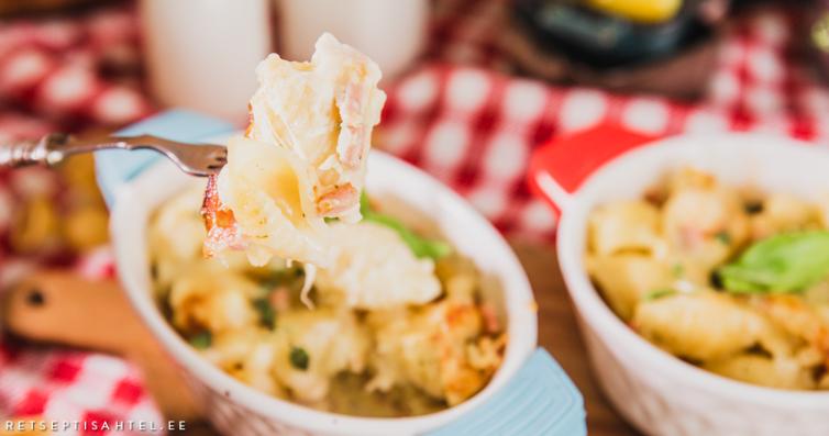 Retseptisahtel-Pastavorm singi ja juustuga
