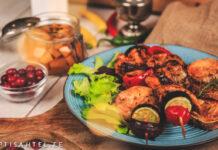 Grillvardad köögiviljadega