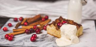 Õuna-hapukoore kook